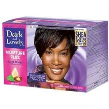 Dark and Lovely No-Lye Moisture Plus Relaxer -SUPER